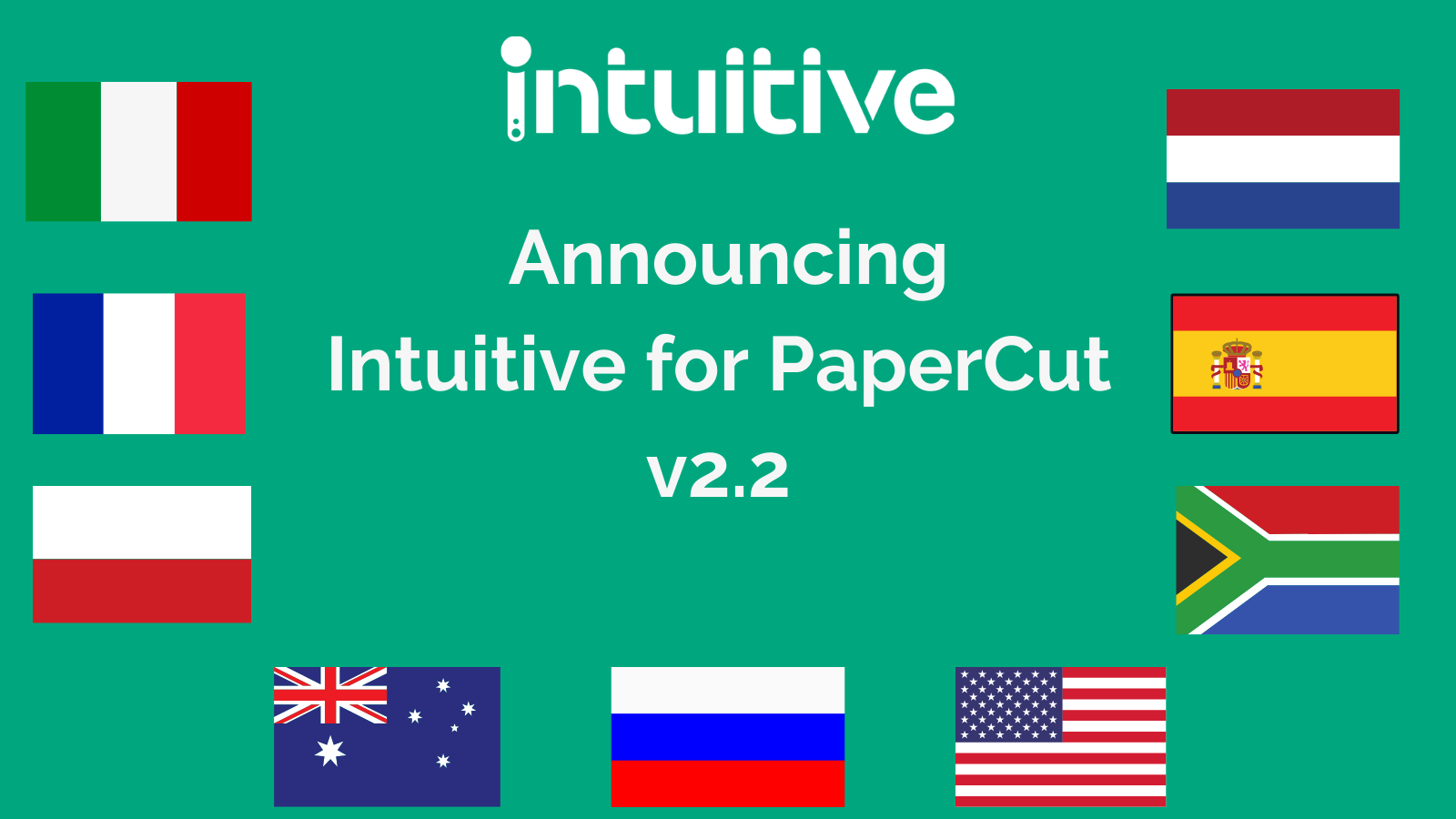 Intuitive for PaperCut v2.2